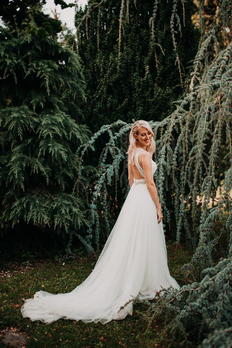 svadobné šaty Pronovias svadobný salón Nicole Bratislava