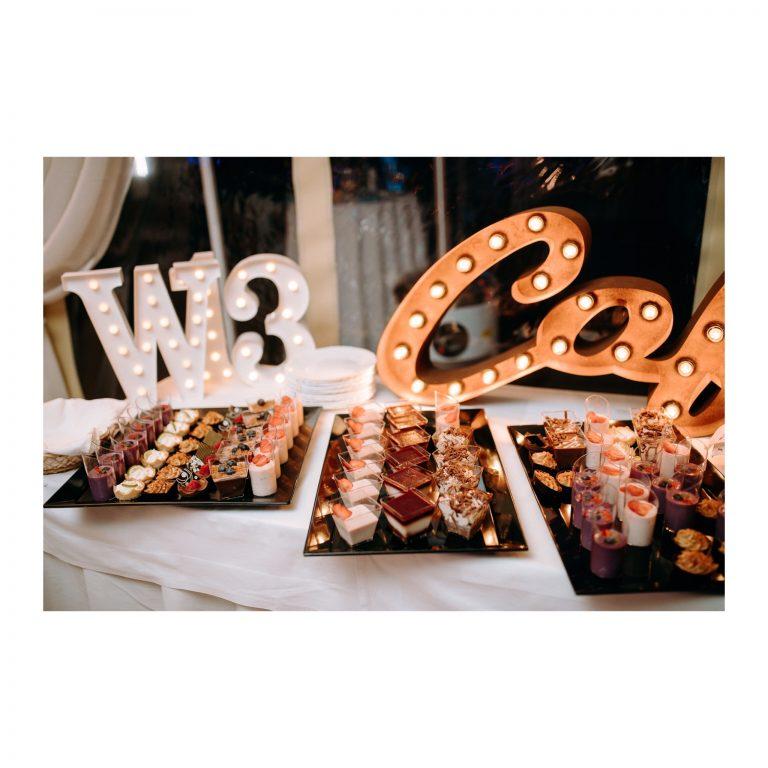 svadobné mini koláčiky
