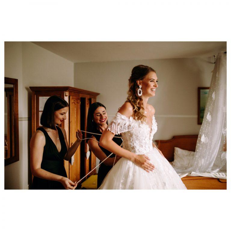 svadobné šaty na viazanie