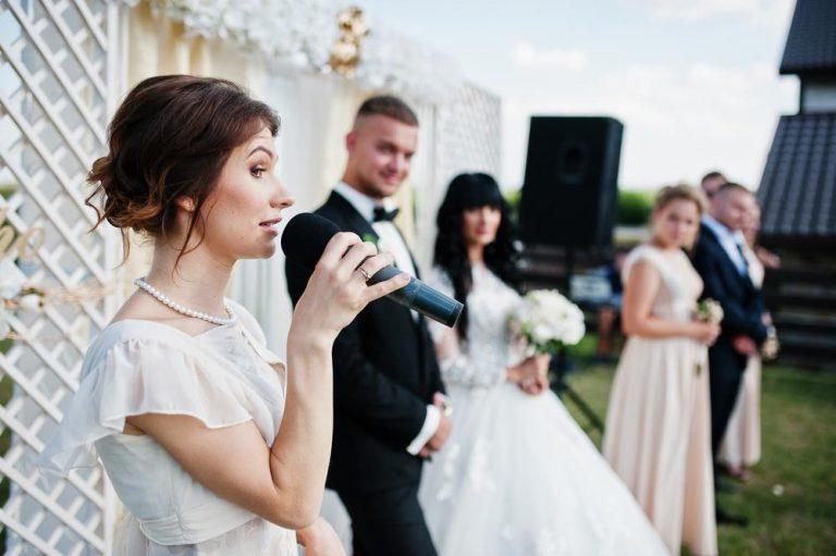 kto má predniesť svadobný príhovor