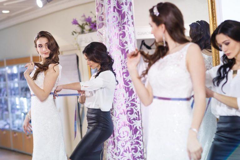 ušiť svadobné šaty