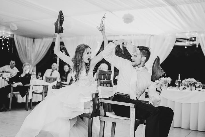 svadobný topánkový kvíz