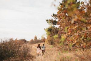 jesenné predsvadobné fotenie