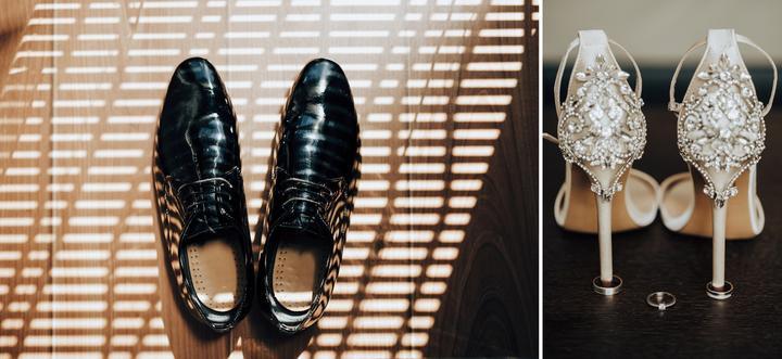 topánky pre ženícha a topánky pre nevestu
