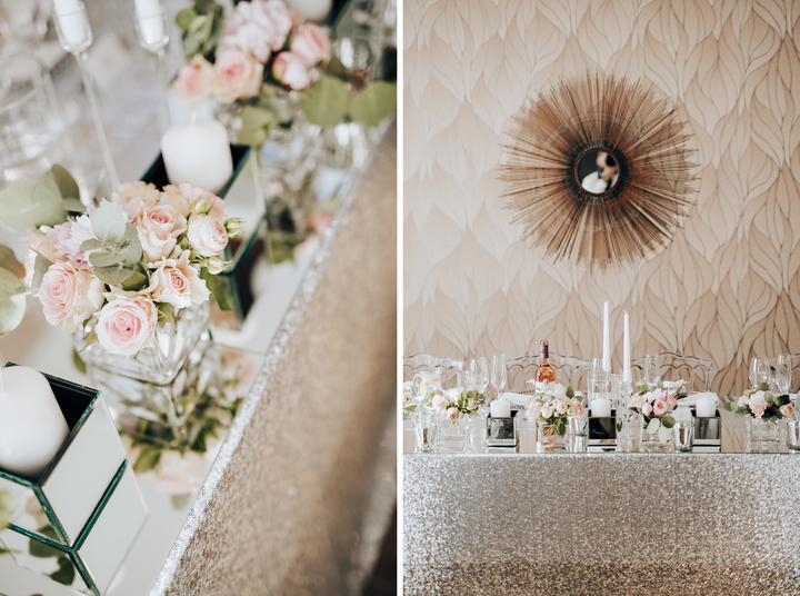 luxusná svadobná výzdoba