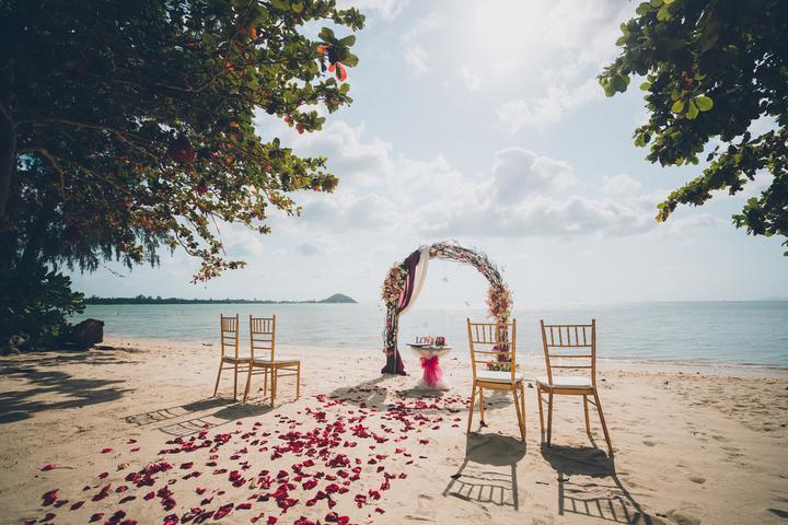 svadba v Thajsku, svadba na pláži, svadba pri mori