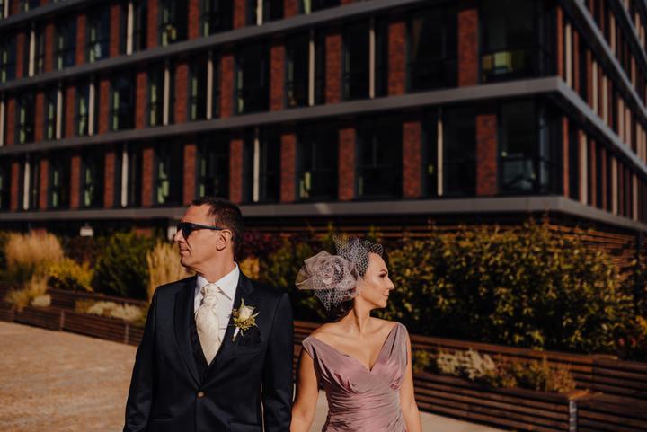 ružové svadobné šaty