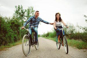 predsvadobné fotenie na bicykloch