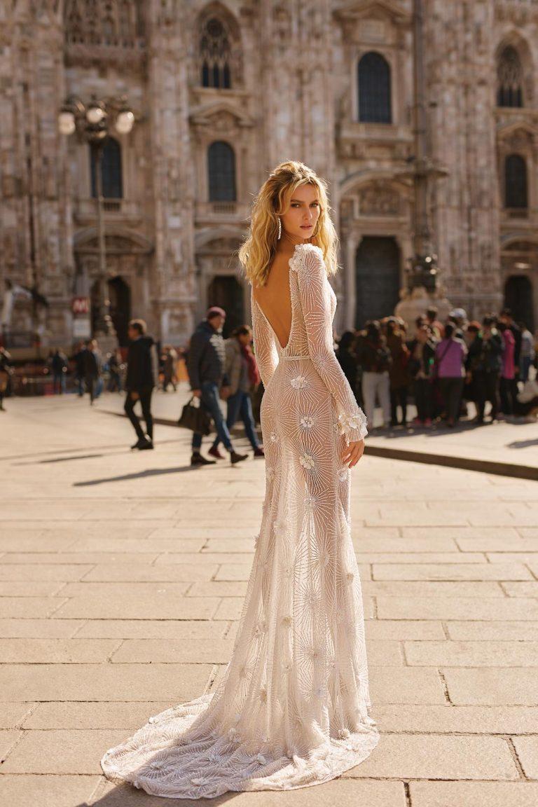 luxusné svadobné šaty BERTA