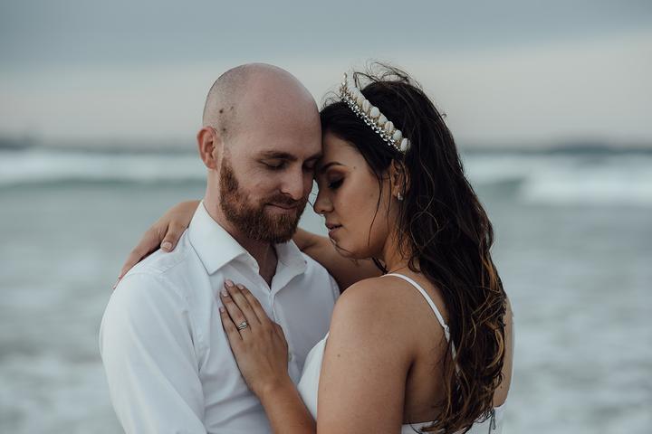 svadba na pláži v Austrálii