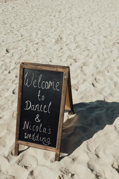 plážová svadba pri mori