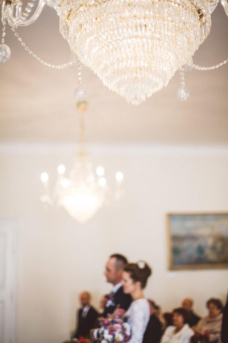 svadobný obrad na radnici v Trnave
