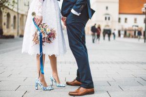 svadobné topánky, topánky na svadbu