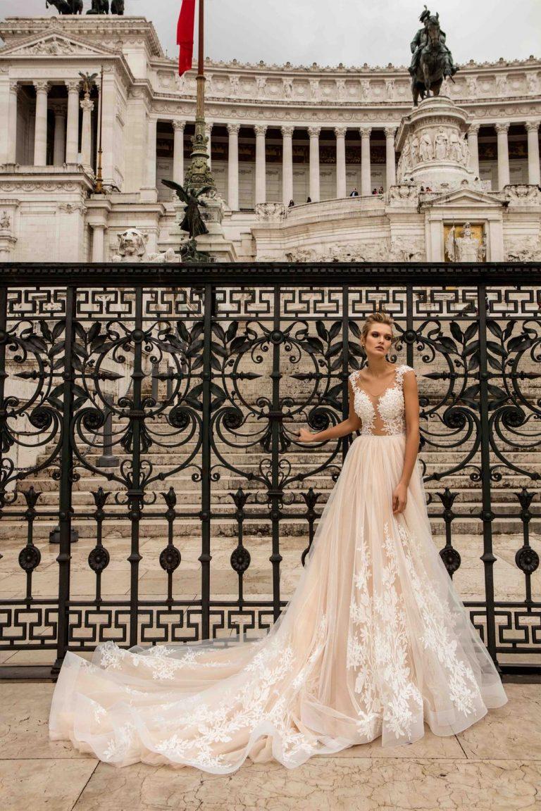 romantické svadobné šaty