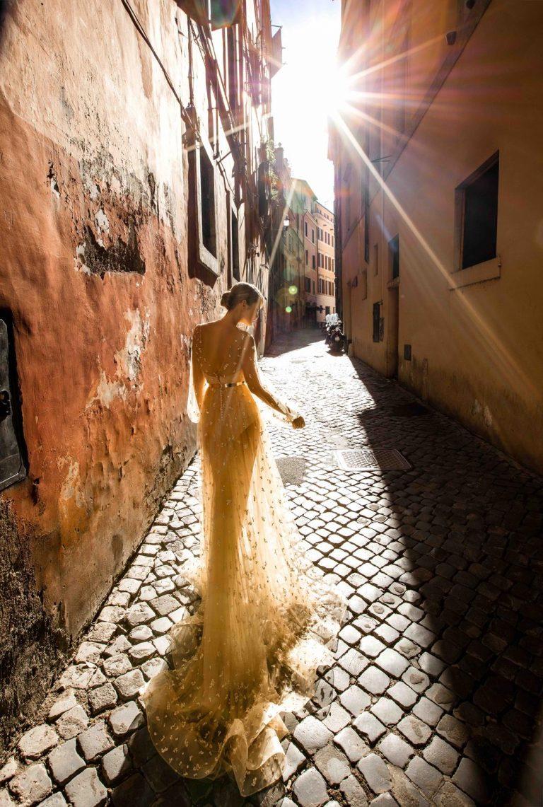 luxusné svadobné šaty Innocentia