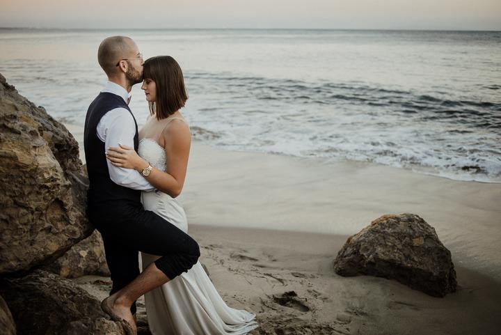 svadobné fotenie pri mori