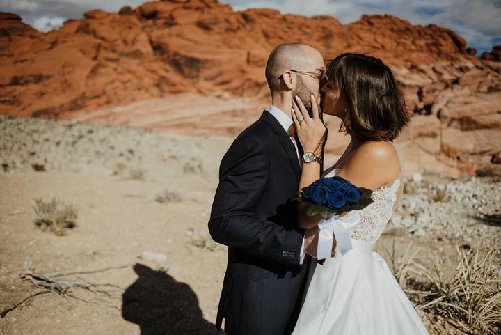 svadobné fotenie v Red Rock Canyon