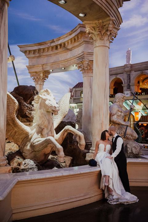 svadba v Las Vegas