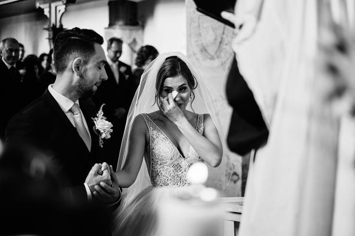 slzičky šťastia na svadbe