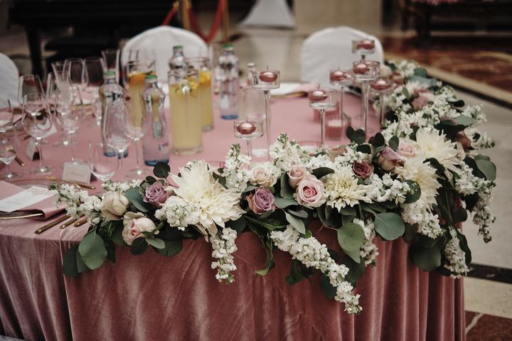 romantická svadobná výzdoba