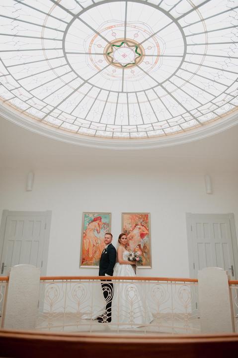 svadobné fotenie v galérii