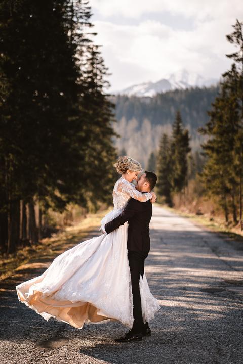 svadobné fotenie vo Vysokých Tatrách