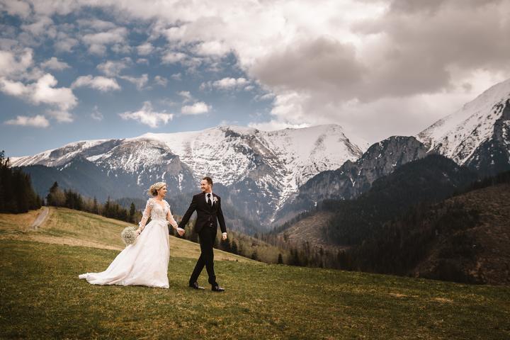 svadobné fotenie v Tatrách