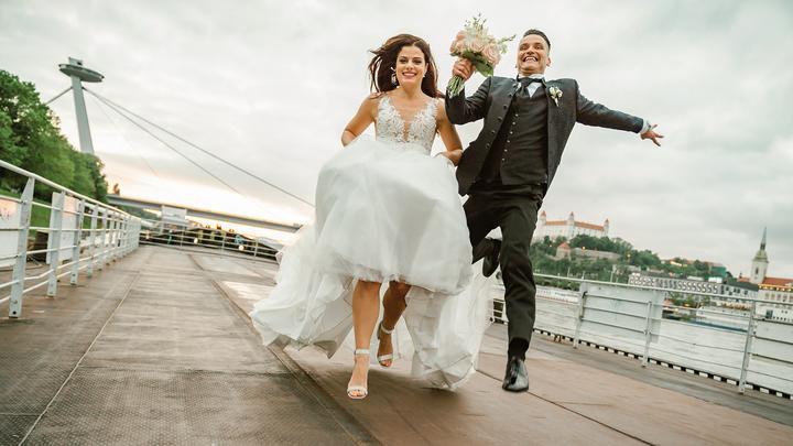 svadobné fotenie v Bratislave