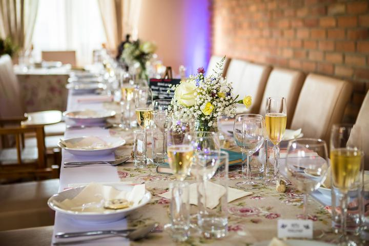 jednoduchá a lacná svadobná výzdoba
