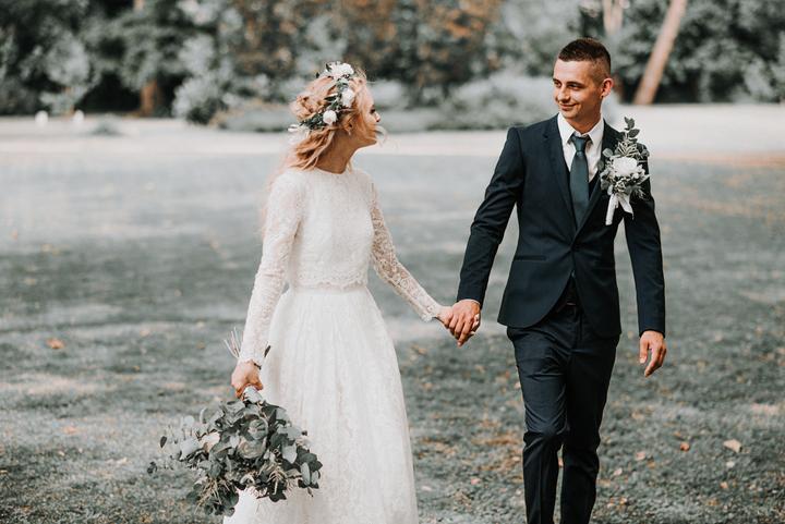 greenery jemná svadba