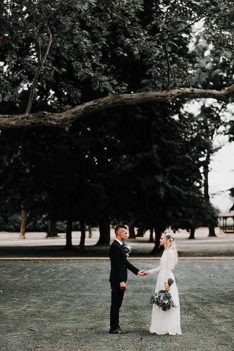 greenery prírodná svadba