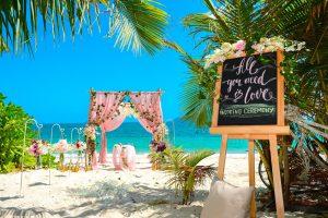 tipy na svadbu na pláži