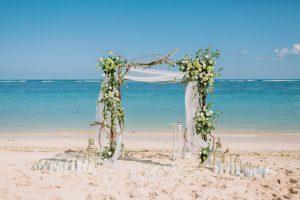 svadba pri mori, svadba na pláži