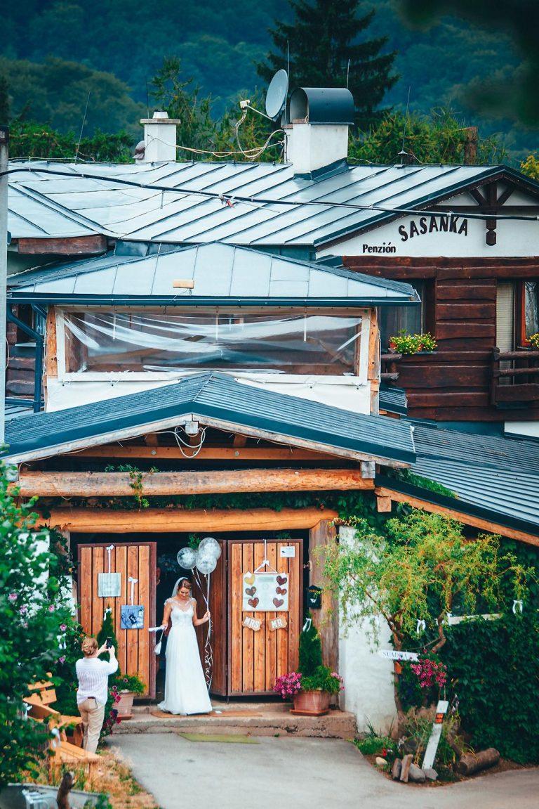 svadba v Penzióne Sasanka vo Vyhniach