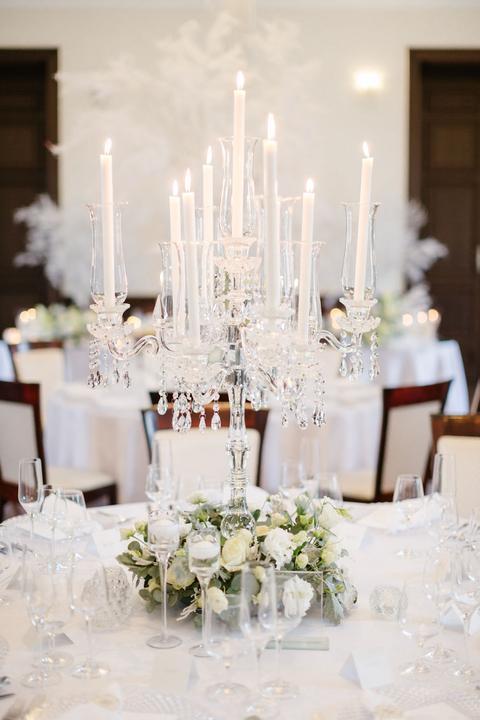 luxusné svadobné svietniky