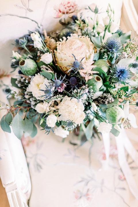 netradičná svadobná kytica
