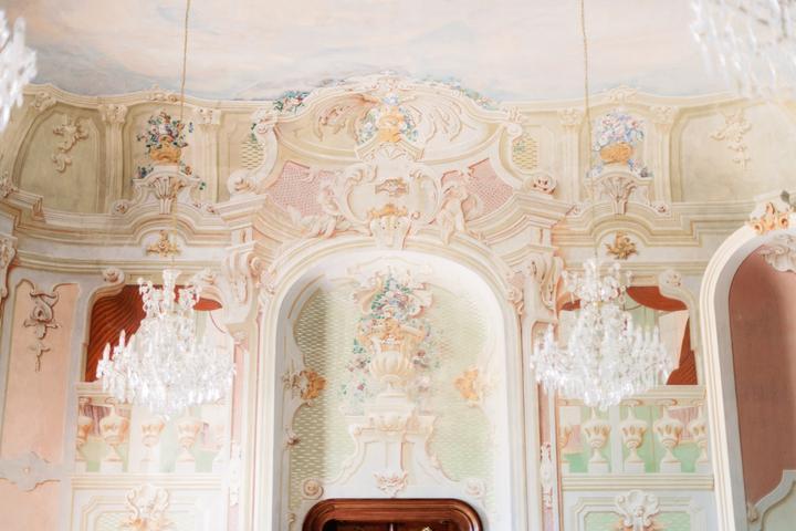 sobášna sála kaštieľa Galicia Nueva