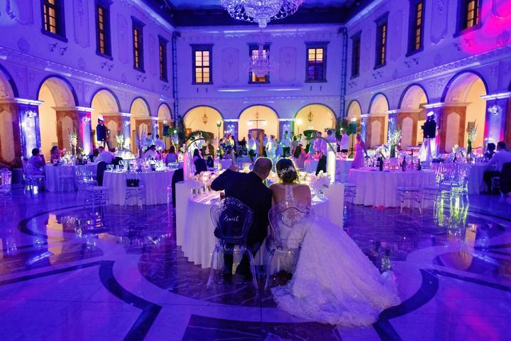 nasvietenie svadobných priestorov