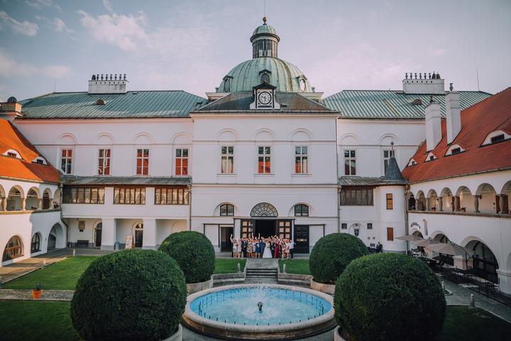 svadba na zámku v Topoľčiankach