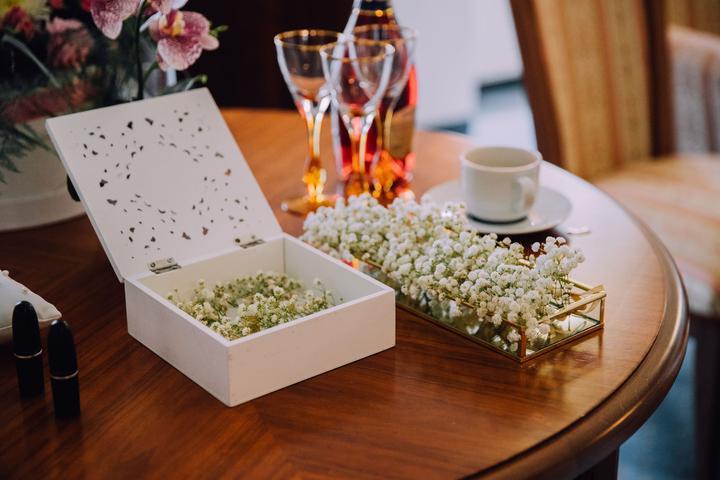 gypsomilka vo svadobnej výzdobe