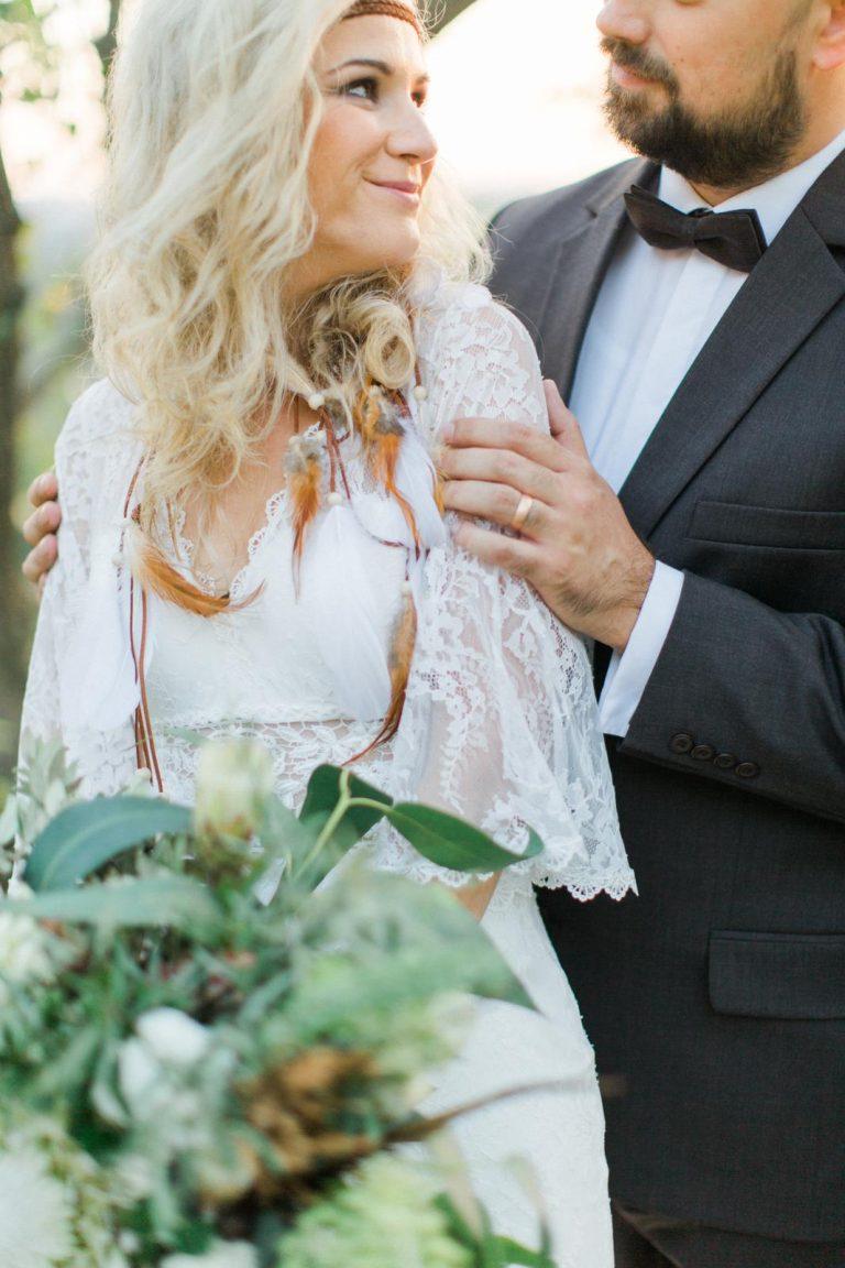 svadba v boho štýle
