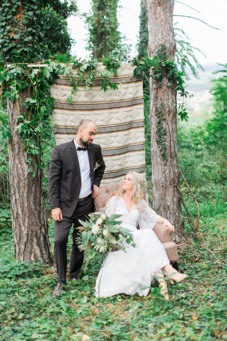 boho svadobné fotenie
