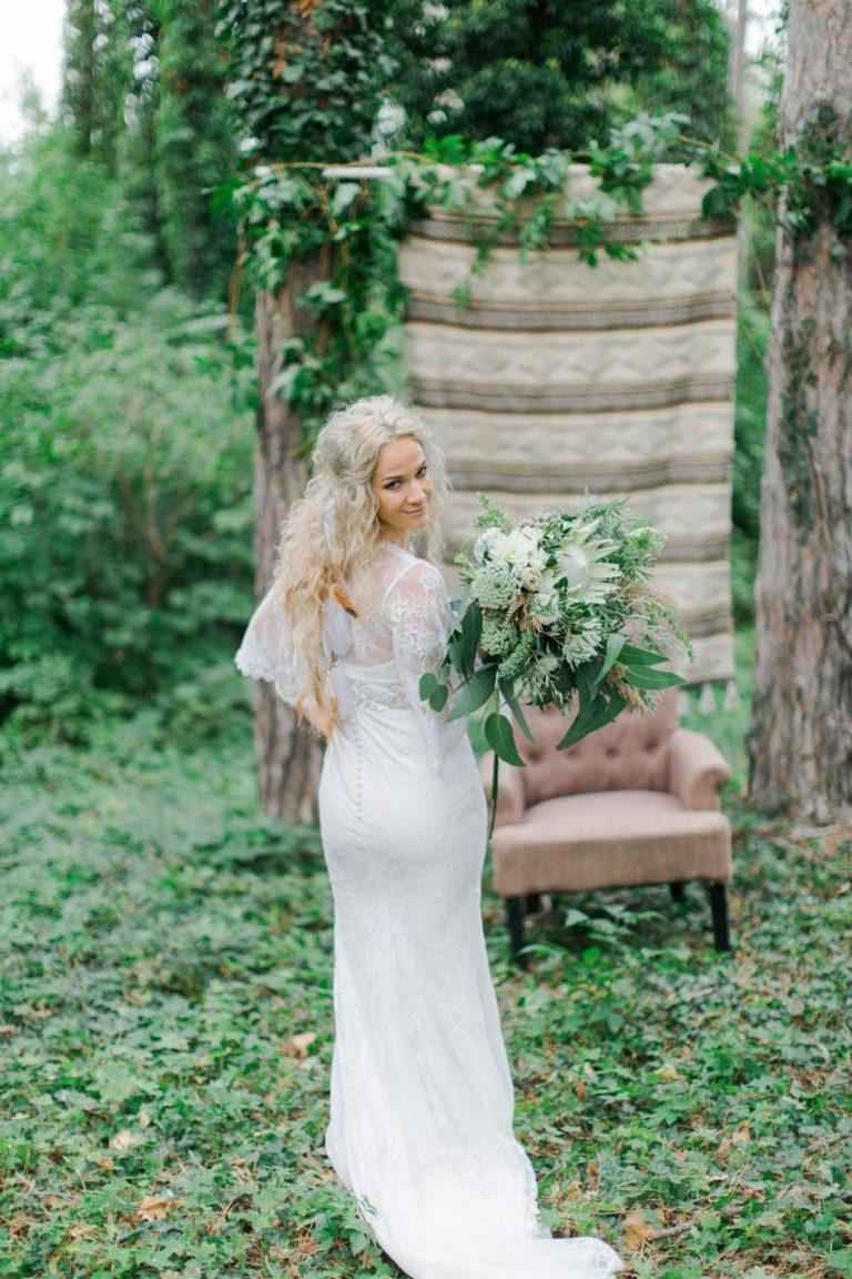 svadobné šaty v boho štýle