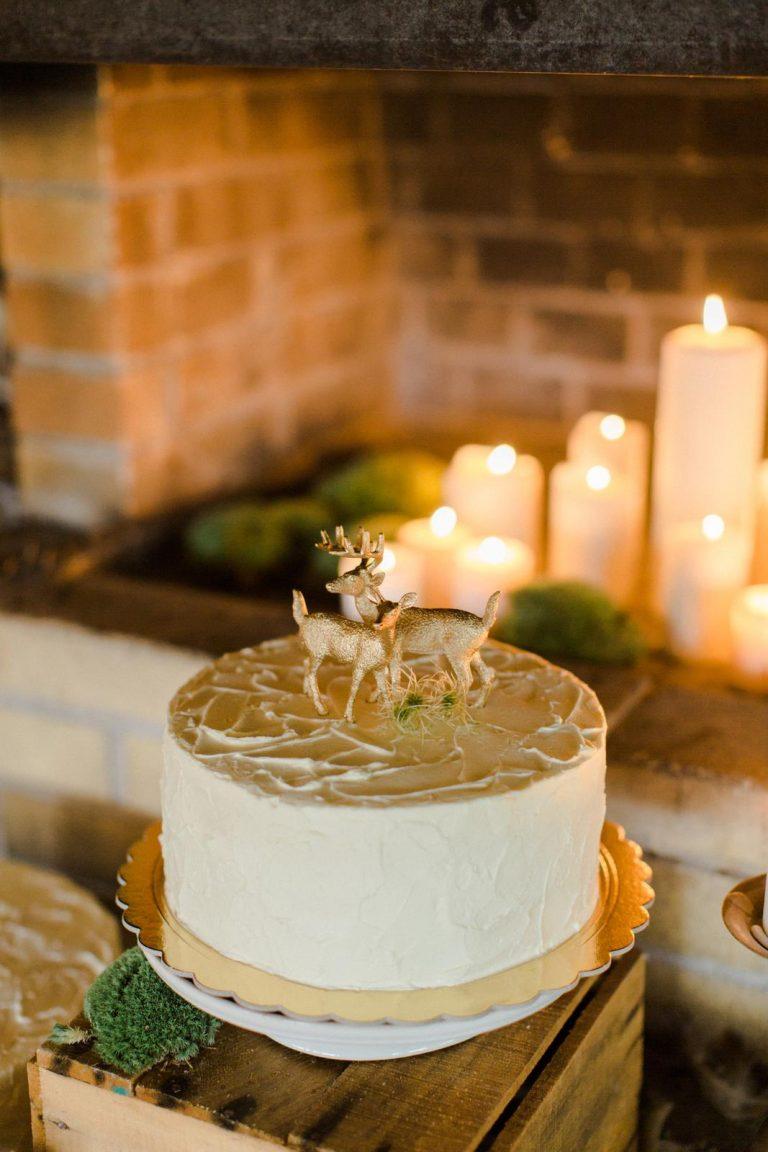 svadobná boho torta