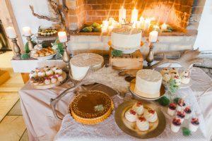 svadobný candy bar inšpirácie