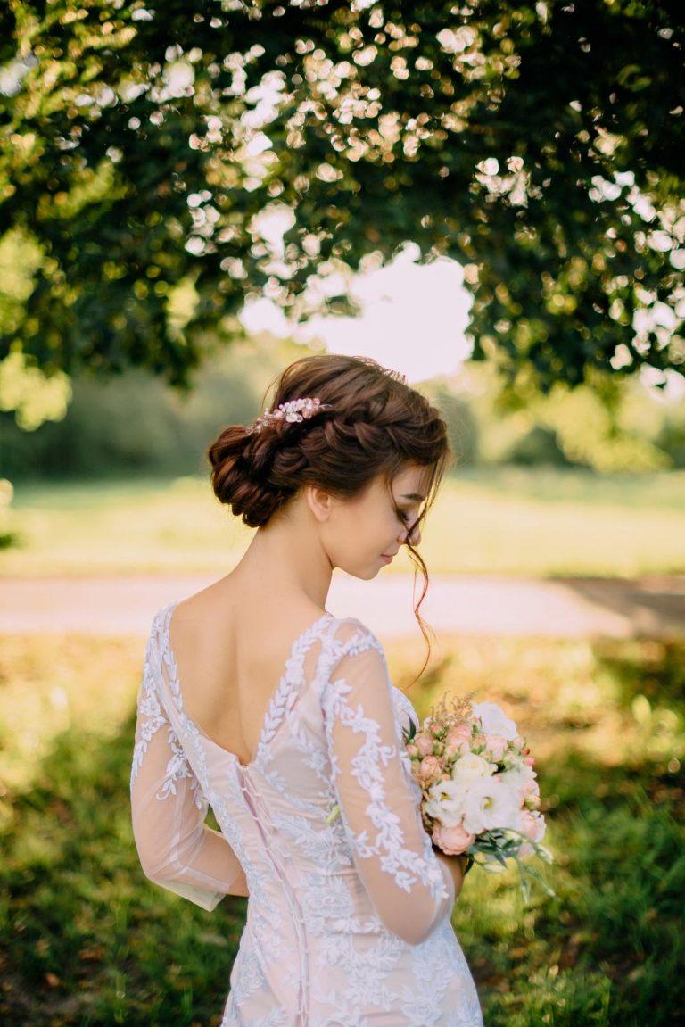 nápady na svadobné účesy