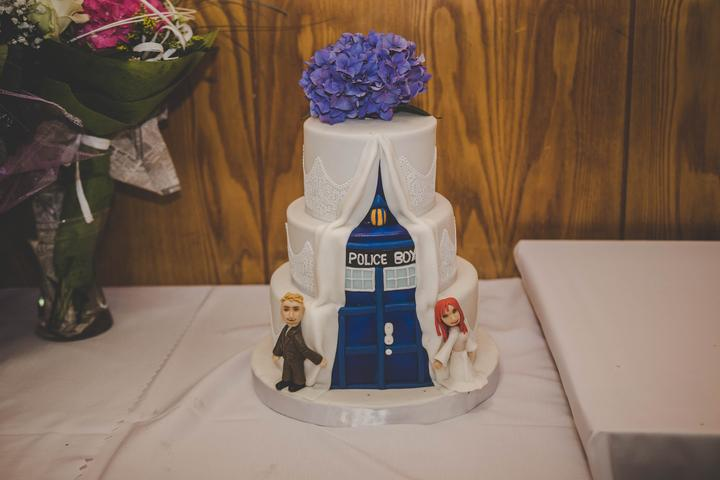 originálna svadobná torta
