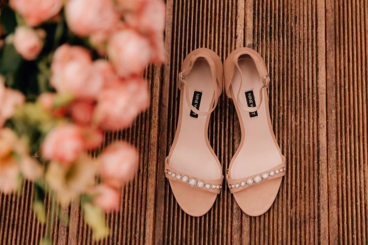 svadobné sandále
