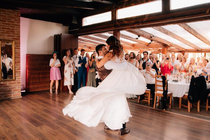 prvý svadobný tanec