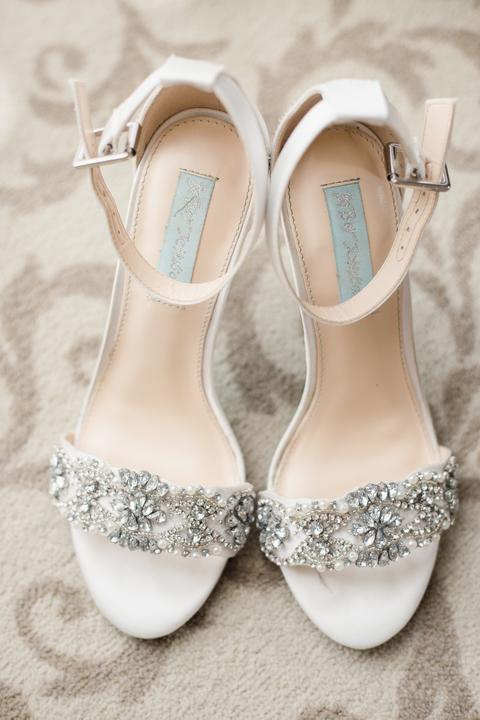 svadobné topánky - sandále
